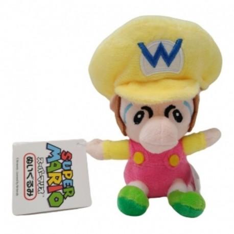 Super Mario Bros Baby Wario Peluche Pequeño (Entrega Inmediata)
