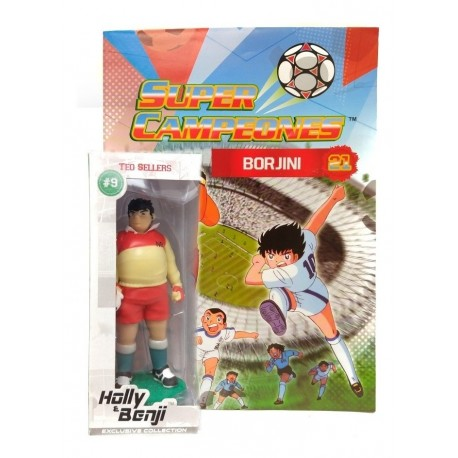 Captain Tsubasa Super Campeones Borjini Figura Panini (Entrega Inmediata)