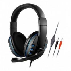 Audifonos Gamer K4 Auriculares Con Micrófono Y Cable 3.5mm (Entrega Inmediata)