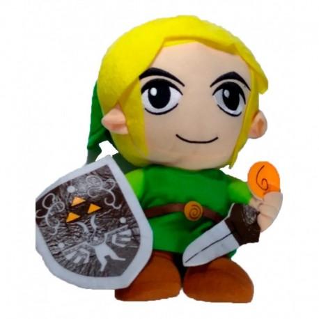 Zelda Peluche Link Con Escudo (Entrega Inmediata)