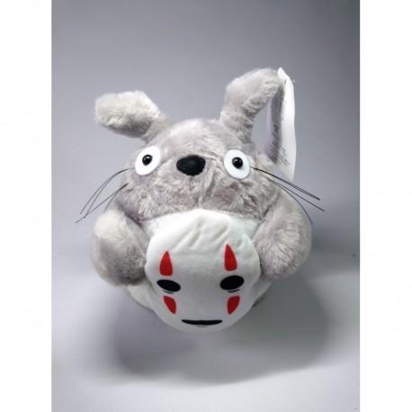 Mi Vecino Totoro Peluche Totoro Mascara Roja, Mascara Morada (Entrega Inmediata)