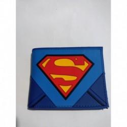 Superman Billetera Pvc Flexible (Entrega Inmediata)