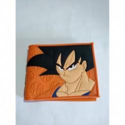 Dragon Ball Billetera Goku Logo Kanji Go Pvc Flexible (Entrega Inmediata)