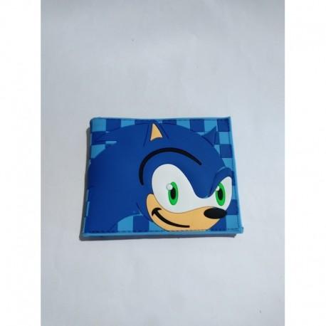 Sonic Billetera Pvc Flexible (Entrega Inmediata)