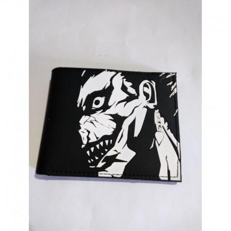 Death Note Billetera Ryuk Pvc Flexible (Entrega Inmediata)