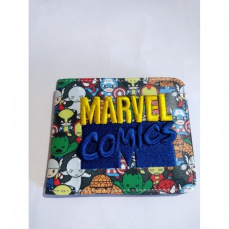 Marvel Billetera Lona (Entrega Inmediata)