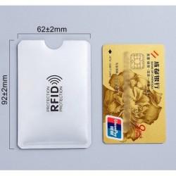 Protector Tarjeta Crédito Anti Lector De Chip Por 3 Unidades (Entrega Inmediata)