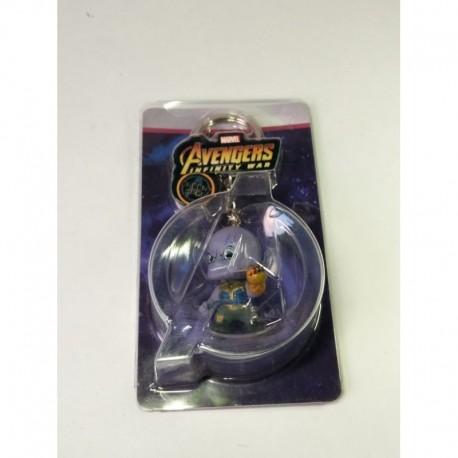 Avengers Llavero - Thanos - Capitán América 3 D Pvc (Entrega Inmediata)