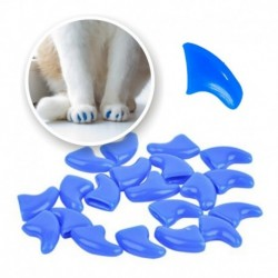 ¡ Protector De Uñas T. Xs Para Gatos Azul Nails Caps !! (Entrega Inmediata)
