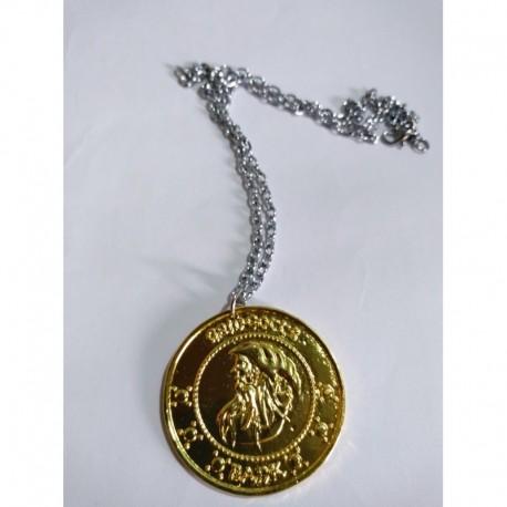 Harry Potter Collar Moneda Gringots Metálico (Entrega Inmediata)