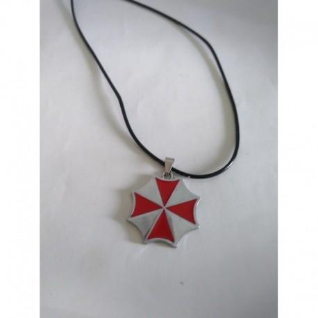 Resident Evil Collar Logo Umbrella Metálico (Entrega Inmediata)