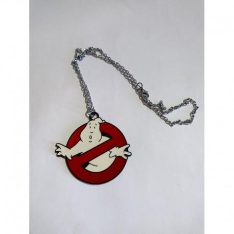 Ghostbusters / Los Cazafantasmas Collar Logo Metálico (Entrega Inmediata)