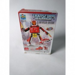 Transformer Figura Tipo Transform Warrior Tipo Bloques (Entrega Inmediata)