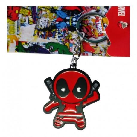Deadpool Llavero Metálico (Entrega Inmediata)