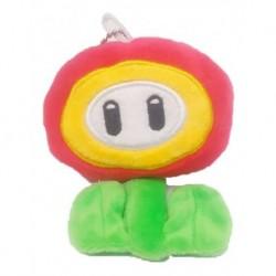 Super Mario Bros Llavero Peluche Fire Flower (flor De Fuego) (Entrega Inmediata)