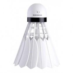 Humidificador Lámpara Forma Bádminton Usb Color Blanco (Entrega Inmediata)