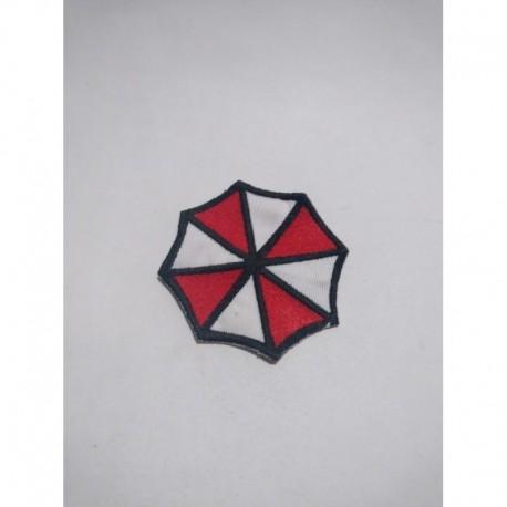 Resident Evil Parche Aplique Bordado Umbrella Corp (Entrega Inmediata)