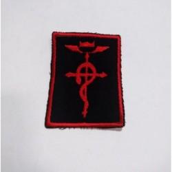 Fullmetal Alchemist Parche Bordado Logo Flamel (Entrega Inmediata)