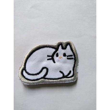 Gato Pequeño Parche Aplique Bordado (Entrega Inmediata)