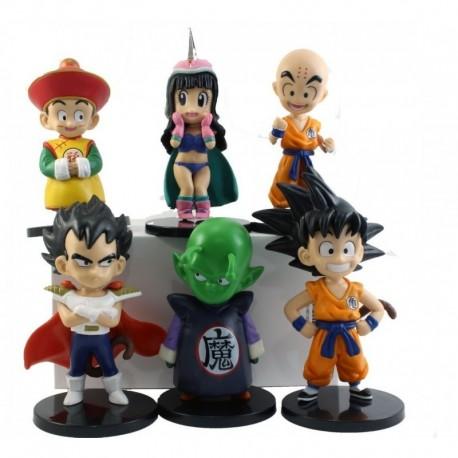 Coleccion De 6 Figuras Dragon Ball - 10 Cm Aprox - (Entrega Inmediata)