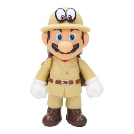 Super Mario Odyssey Outfit Explorer Mario Figura En Bolsa (Entrega Inmediata)