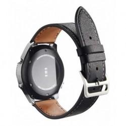 Pulso En Cuero Para Samsung Gear Sport, S3 Frontier / 20mm (Entrega Inmediata)