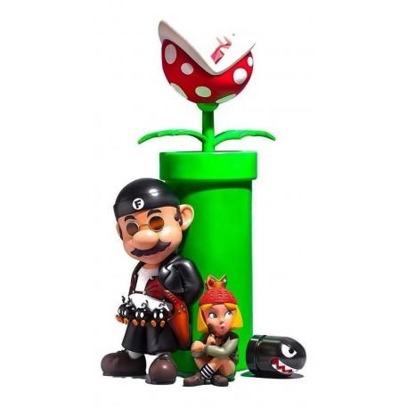 Figura Mario Set X2 Super Mario Profesional + Obsequio (Entrega Inmediata)
