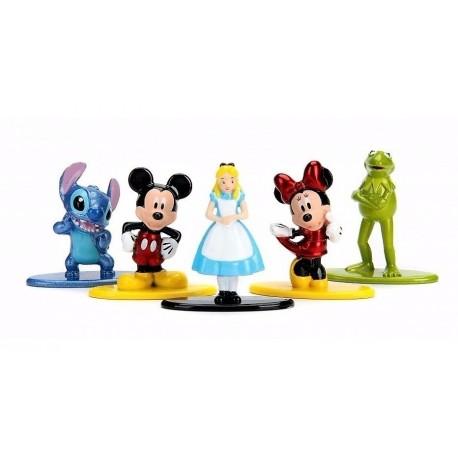 Buzz Lightyear Disney Pixar Nano Metalfigs Set De 5 Figuras (Entrega Inmediata)