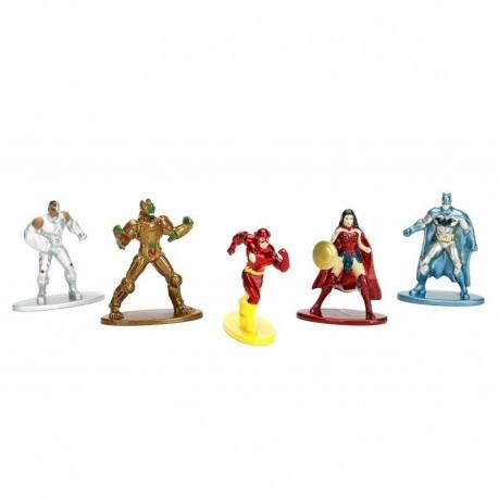 Nano Metalfigs Jada Dc Comics X5 Figuras En Metal (Entrega Inmediata)