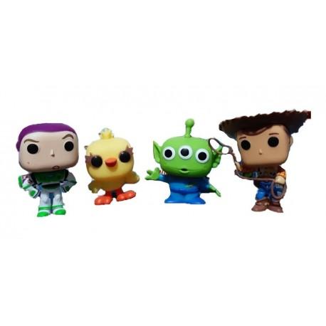 Figura De Buzz Lightyear Y Woody Toy Story (Entrega Inmediata)