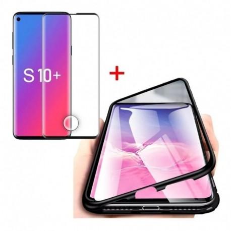 Estuche Magnetic Case + Vidrio 3d Samsung S10e - S10 - S10+ (Entrega Inmediata)
