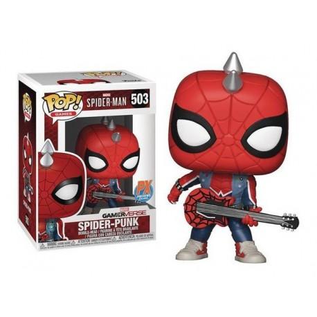 Funko Pop Spider Punk Gameverse Spiderman Exclusivo Original (Entrega Inmediata)