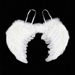 Alas De Ángel Blancas Adulto Halloween K9115 (Entrega Inmediata)