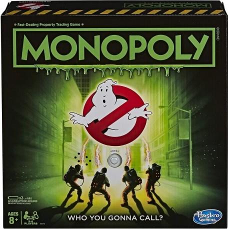 Monopoly Ghostbusters Cazafantasmas Juego De Mesa E9479 (Entrega Inmediata)