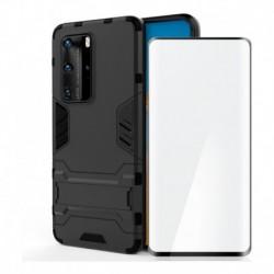 Funda Estuche Antichoque + Vidrio 3d Full Huawei P40 Pro (Entrega Inmediata)
