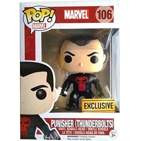 Marvel Exclusivo Punisher Thunderbolts Figura Funko Pop (Entrega Inmediata)