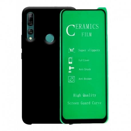 Silicone Case + Vidrio Templado 5d Huawei Y9 Prime 2019 (Entrega Inmediata)