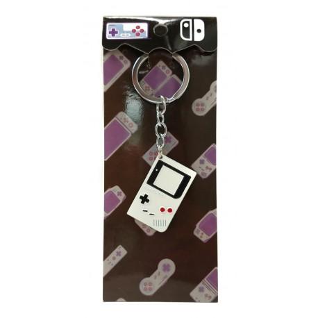 Nintendo Game Boy Blanco Llavero Metálico (Entrega Inmediata)
