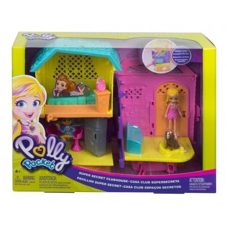 Polly Pocket Set De Juego Polly Y Peaches (Entrega Inmediata)