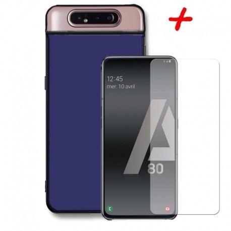 Funda Antichoque Armadura + Vidrio 2d Samsung A80 (Entrega Inmediata)