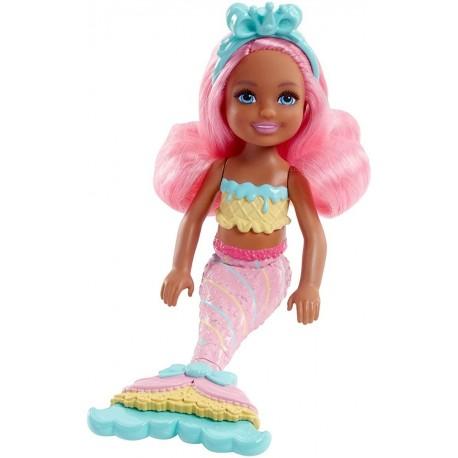 Chelsea Dreamtopia Barbie Pequeña Sirena Juguete Ref Fkn03 (Entrega Inmediata)