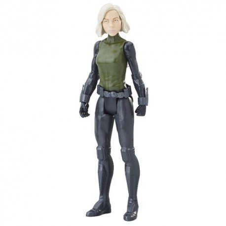 Titan Hero Powerfx Avengers Figura Black Widow 12 Pulgadas (Entrega Inmediata)