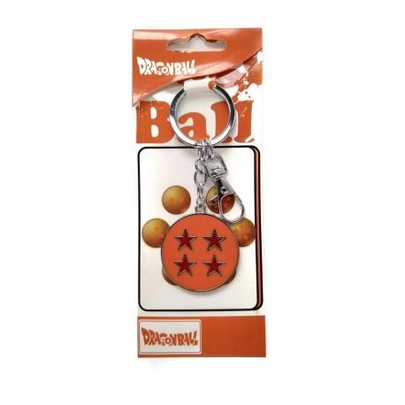 Dragon Ball Z Esfera 4 Estrellas Llavero Metálico (Entrega Inmediata)
