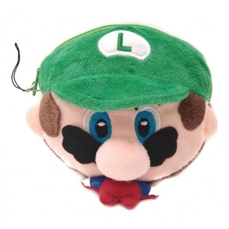 Super Mario Bros Luigi Peluche Monedero (Entrega Inmediata)