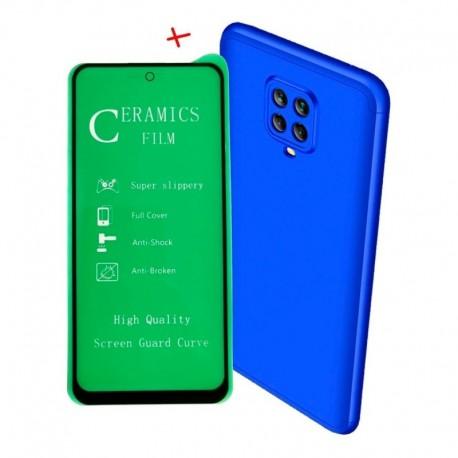 Funda 360 De Lujo + Vidrio Cerámico Xiaomi Mi Note 9 Pro (Entrega Inmediata)
