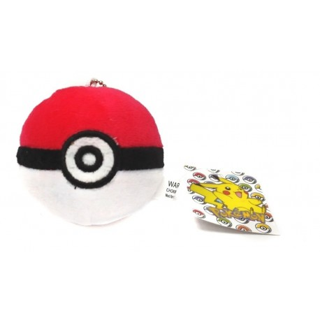 Pokémon Pokebola Peluche Llavero Pequeño (Entrega Inmediata)