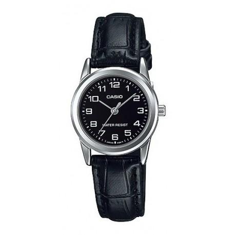 Reloj Casio Ltp-v001l Cuero Resistent Agua Original Garantia (Entrega Inmediata)