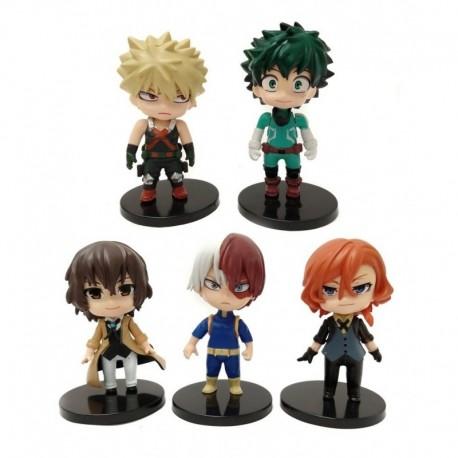 My Hero Academia Boku No Hero Colección 5 Figuras En Bolsa (Entrega Inmediata)