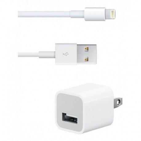 ¡ Cargador + Cable Para Celulares iPhone 5 Genérico !! (Entrega Inmediata)