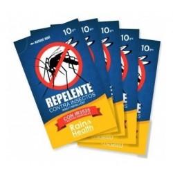 Set De 5 Sachets De Repelente Rain & Health Ir En Sachet (Entrega Inmediata)
